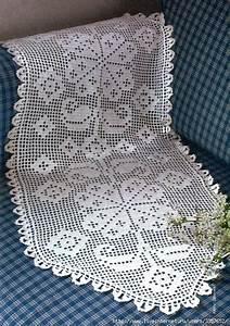 Filet Crochet Runner
