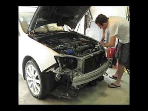 bumper cover headlight removal subaru impreza