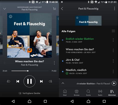 Wie ich Podcasts höre  jedenfalls nicht über Spotify