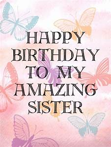 Sister Birthday Card – gangcraft.net