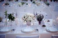 beautiful table settings weddings | DESIGN&DECOR