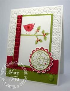 Stampin Up Joy at Christmas