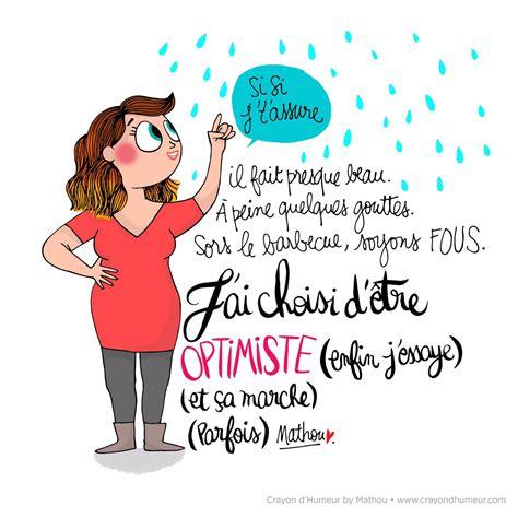 mathou virfollet on quot optimisme mathou crayondhumeur dessin illustration