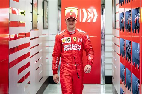 Wearing a helmet is a key issue in #roadsafety. Michael Schumacher's son will join Formula 1 in 2021 - Esquire Middle East