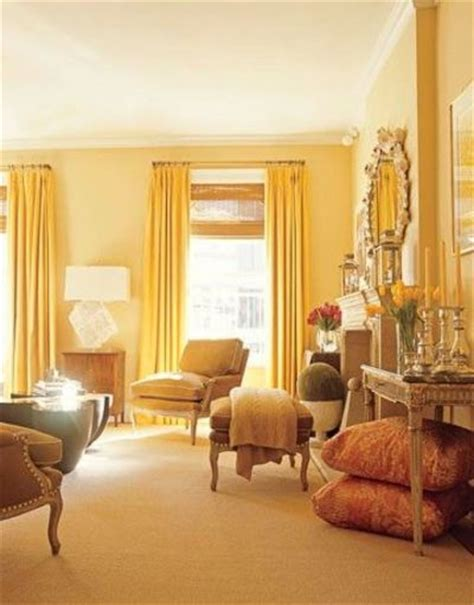 yellow curtains and yellow walls for the home juxtapost