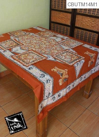taplak meja makan motif kewan sembagi taplak meja batik