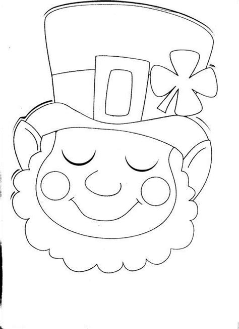 coloring page st patricks day pinterest