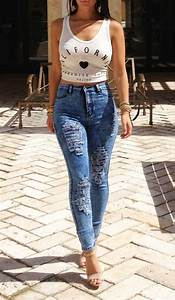 High Waisted Ripped Jeans Tumblr - Nice Fashion 2015