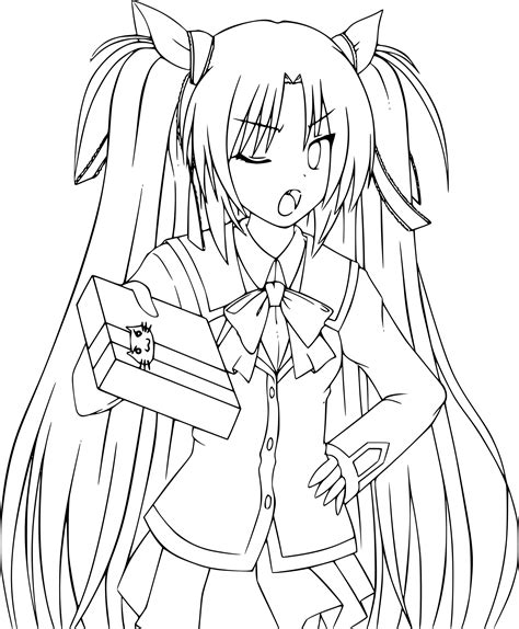 If you do not find the exact resolution you are looking for, then go for. Coloriage Fille manga Rin à imprimer sur COLORIAGES .info