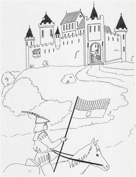 Kleurplaat Paleis Het Loo by Ridders En Kastelen