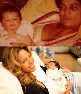 Does Blue Ivy Carter Look Like Beyonce As A Baby? Peep the ...
