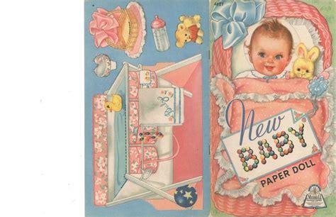 vintage uncut   baby paper dolls hdlaser org sz