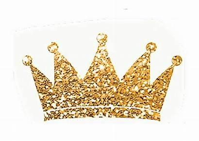 Crown Princess Gold Clipart Glitter Clip Birthday