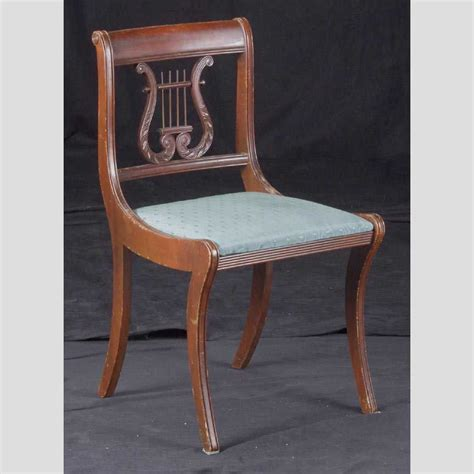 lyre back chair value duncan phyfe chairs images