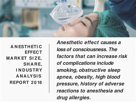 Anesthetic effect market size, share, industry analysis ...