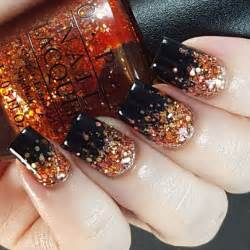 Fall shellac nails nail art styling