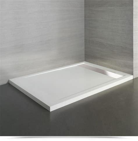 piatto doccia acciaio piatto doccia in acrilico 100x70 cm con canalina acciaio