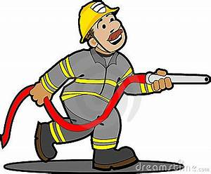 Cartoon Fireman Clipart