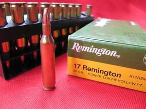 .17 Rem AMMO Remington factory 25 gr HP Non-Guns > Ammunition