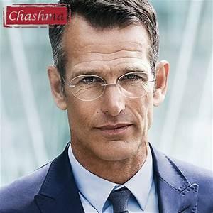Chashma Brand Women Men Rimless Titanium Glasses Light