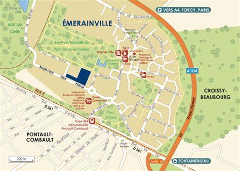 bureau de poste pontault combault les résidiales le domaine du parc à emerainville