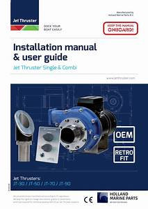 D 010 04 New Inst Manual Alg Gb  Compleet  By Jet Thruster