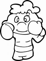 Boxing Coloring Gloves Printable Sheets Kid Clip Outline Adult Boxer Getdrawings Fathers App Getcolorings Visit Library Clipart Anycoloring sketch template