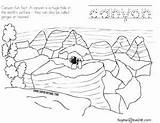 Canyon Grand National Coloring Arizona Parks sketch template