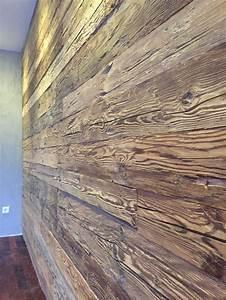 Bs Holzdesign Wandverkleidung : altholz bretter balken gehackt bs holzdesign ~ Markanthonyermac.com Haus und Dekorationen