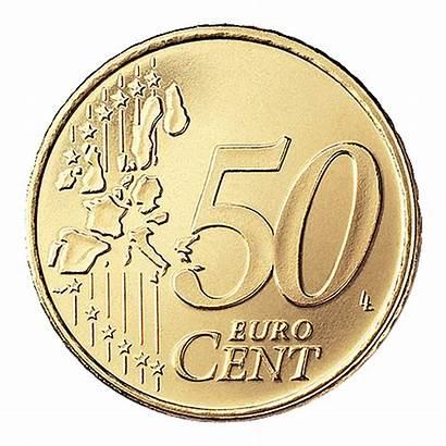 Euro Cent Coin Transparent Coins 2002 Eur
