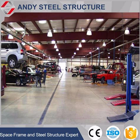 Car Service Company by Steel Structure Auto Service Workshop Layout Design Buy