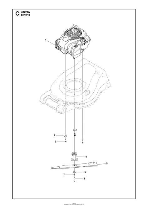 Husqvarna Lca Parts Diagram For