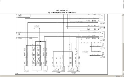 International 4300 Wiring Diagram Backup Light by I A 2005 387 Peterbilt With No High Beam And No