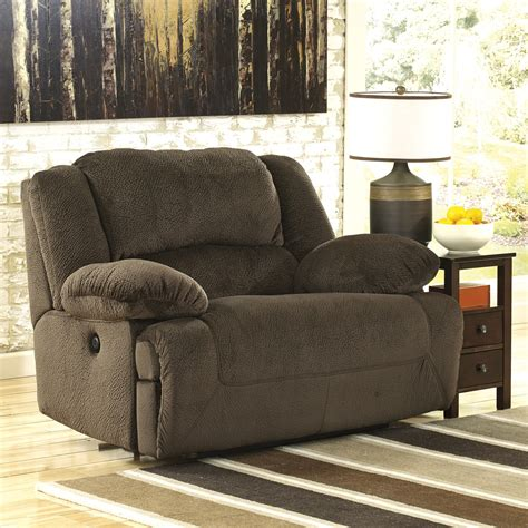 Black Oversized Recliner by Oversized Reclining Sofa Damacio Oversized Recliner