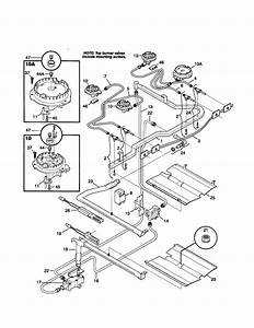 Tappan Tgf336bhdd Gas Range Parts