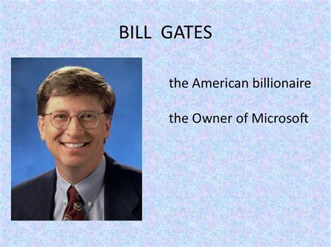 men american dream bill gates prezentatsiya onlayn