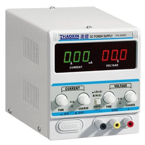 Linear DC Power Supply PS-305D (0-30V, 0-5A, 1mA Display