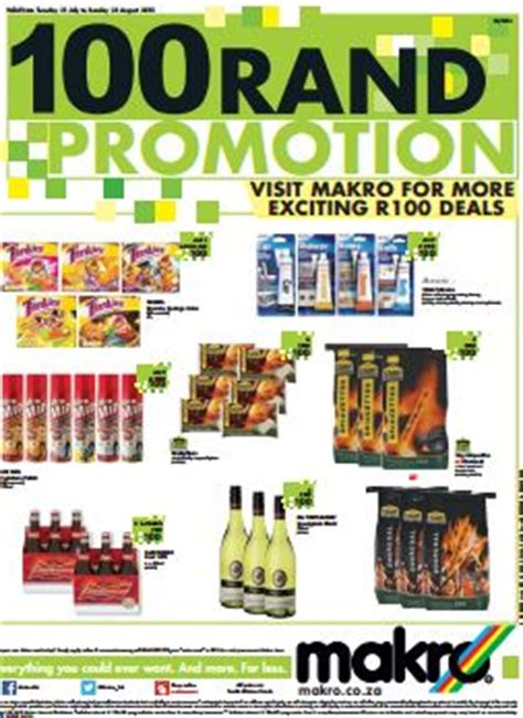 80830 Food Coupons South Africa by Makro R100 Deals 2018 Where To Purchase Newspaper Coupon
