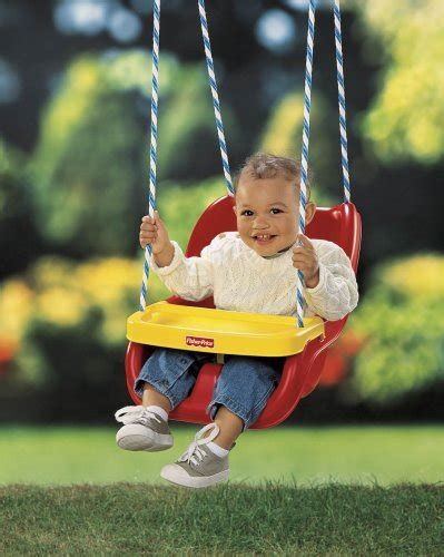 fisher price outdoor swing fisher price infant to toddler swing home garden lawn