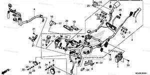 Honda Motorcycle 2015 Oem Parts Diagram For Wire Harness
