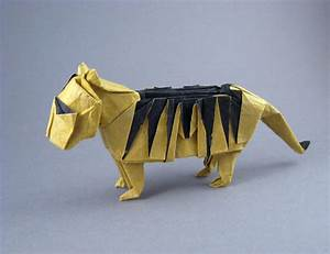 Origami Tigers And Leopards