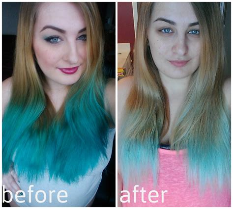 How To Fade Stubborn Bright Blue Hair So You Can Dye It