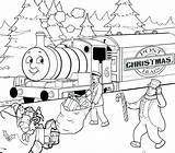 Coloring Train Thomas James Printable Drawing Friends Csx Caboose Engine Cartoon Colouring Printables Santa Getcolorings Getdrawings Vistoso Drawings Colorings Col sketch template