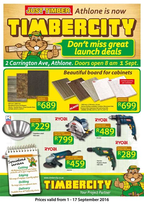 timbercity specials catalogue  sep   sep