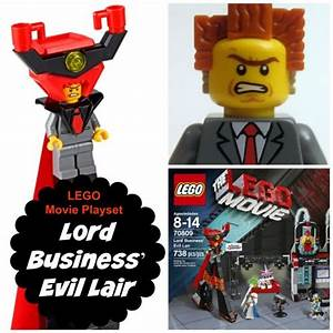 LEGO Movie Lord Business' Evil Lair   Toys, Plays and Lego