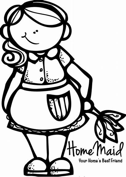 Cleaning Clipart Maid Clean Logos Coloring Transparent