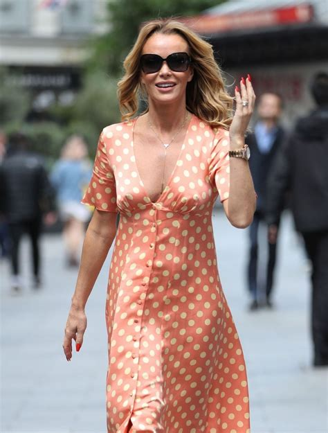 Amanda louise holden is an english television presenter, actress and singer, best known as a judge on itv's britain's got talent since the show began in 2007. AMANDA HOLDEN Leaves Global Studio in London 06/20/2019 - HawtCelebs