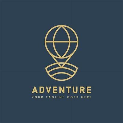 Outdoor Adventure Badge Template Vector Clipart Graphics