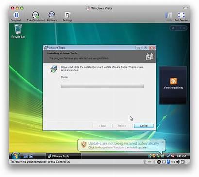 Windows Vmware Vista Mac Fusion Install Using