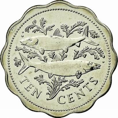Bahamas Cents 2000 Coin Ten Reverse Franklin